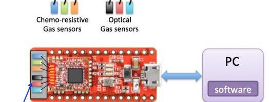 Sviluppo di microsensori integrati basati su materiali nanostrutturati